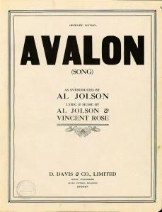 Avalon_sheet_music_cover_(Australia)