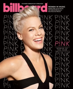 Pink for Billboard Magazine December 2013