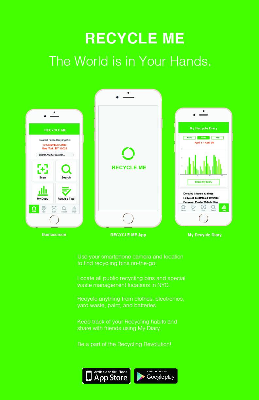 Poster design app - Recycleme Poster Final Final Final